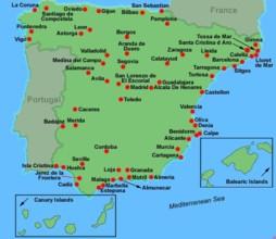 Carte De L Espagne Lorca | My blog