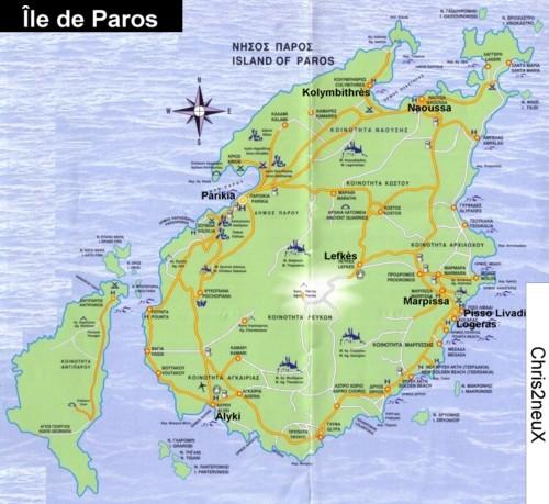 ïle de Paros dans les Cyclades : Grece